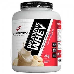 Delicious Whey - 2000g Chocolate Branco - BodyAction