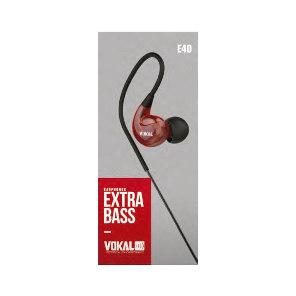 Foto2 - Fone Monitor In Ear Vokal E40 Extra Bass