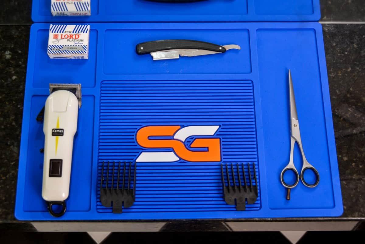 Imagem do produto Tapete Organizador Azul Royal