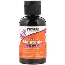 Foto 1 - Melatonina Liquida 3 mg (59 ml) - Now Foods