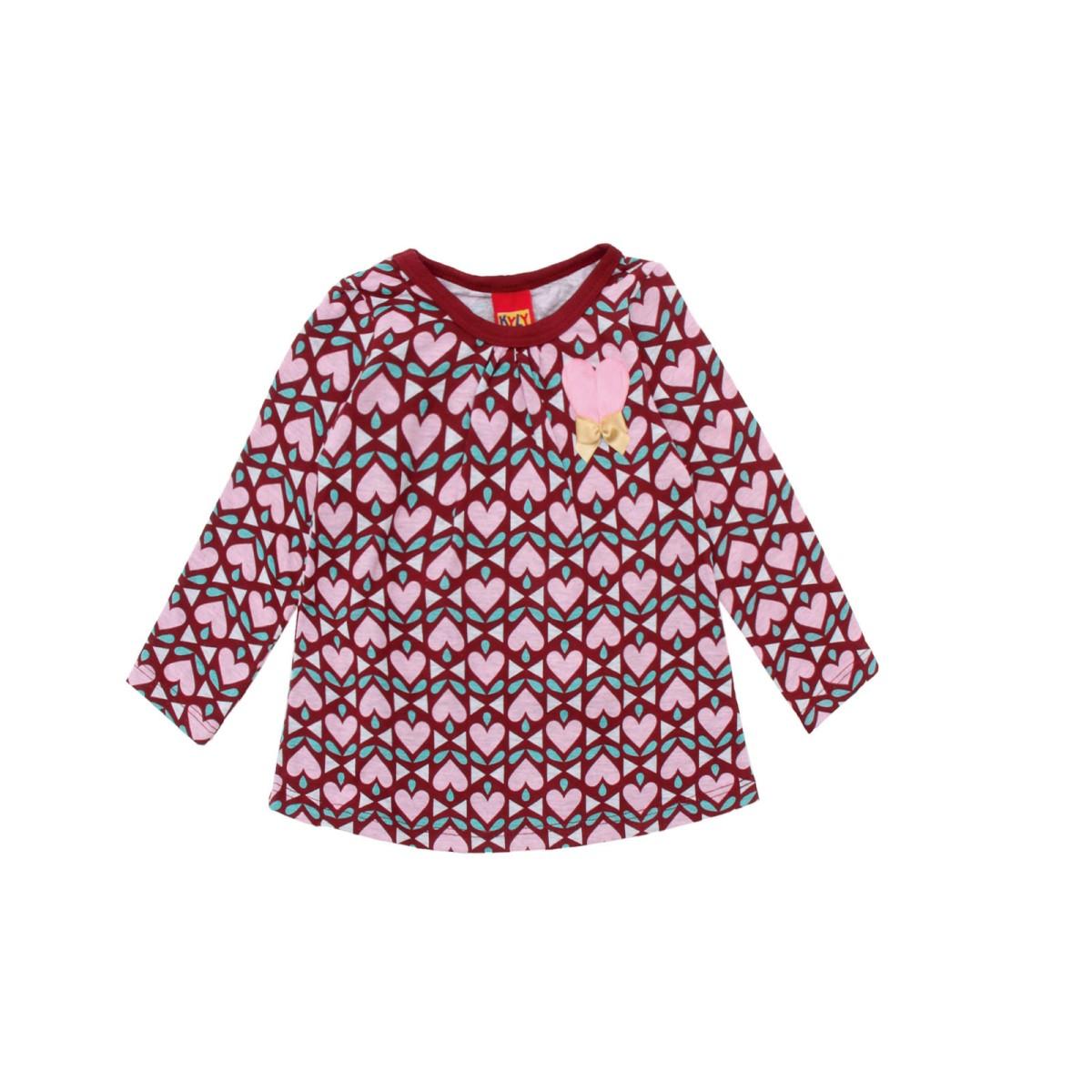 Imagem do produto Blusa Infantil Feminina Kyly Corações