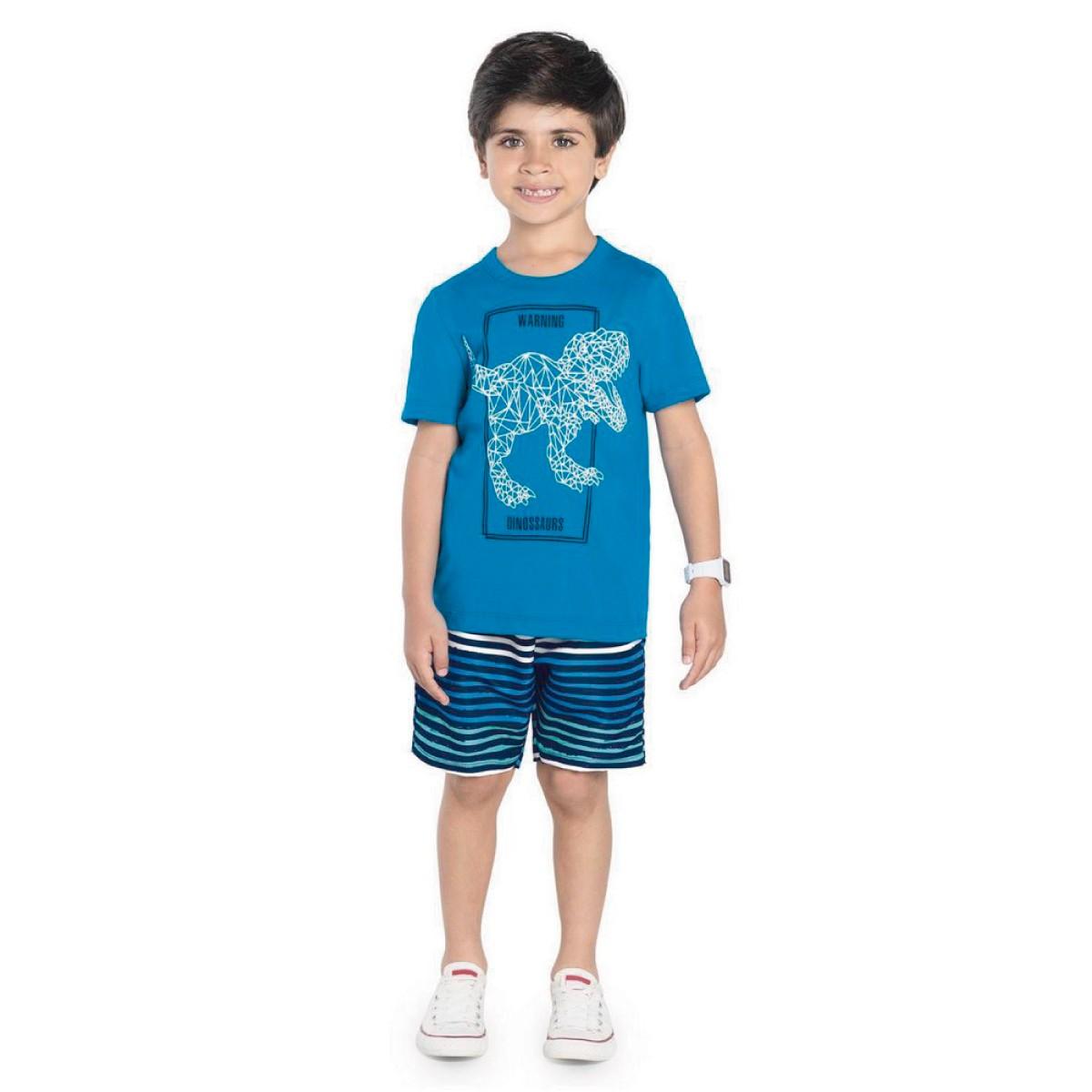 Imagem do produto Conjunto Camiseta com Bermuda Kids Masculino Rovitex