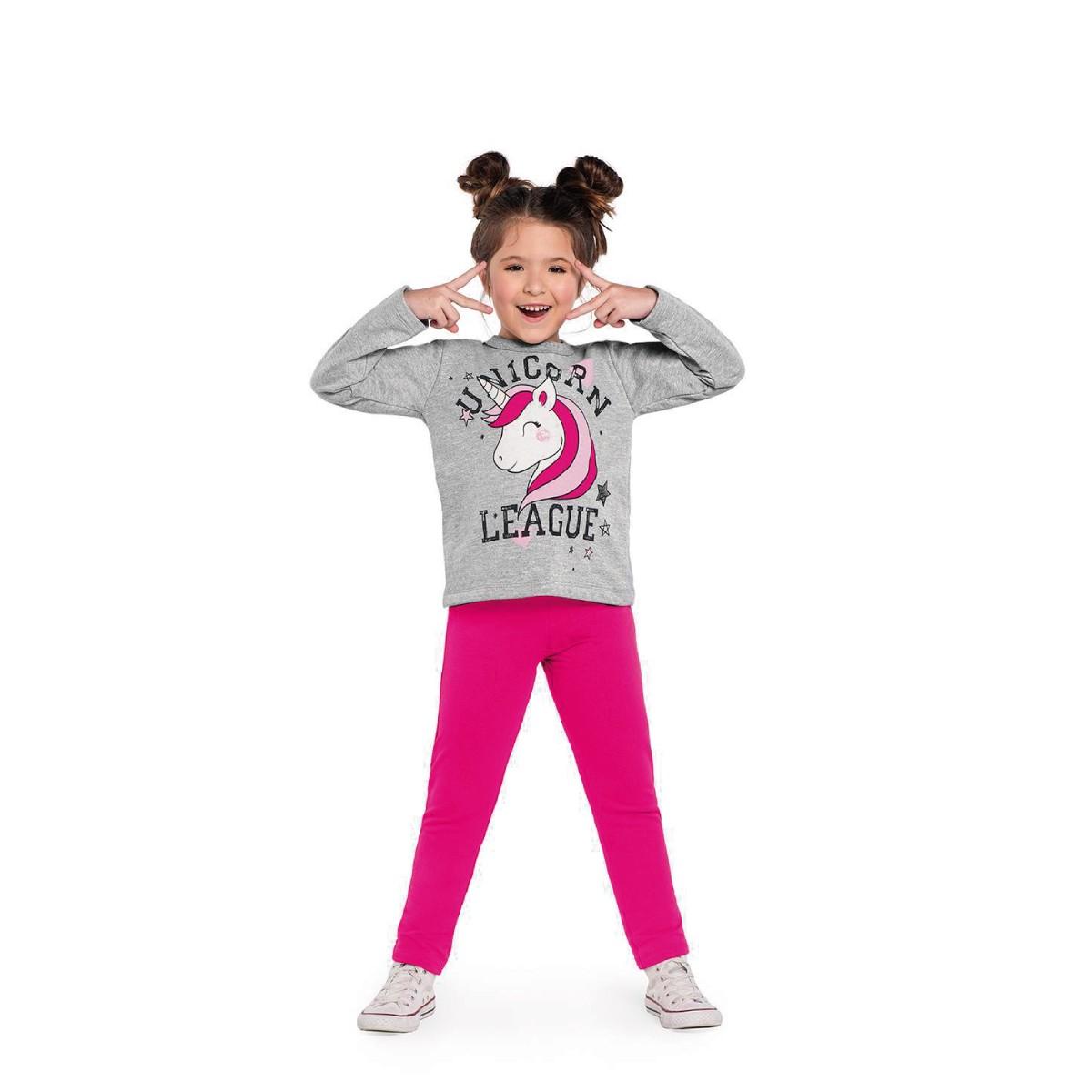 Imagem do produto Conjunto Infantil Feminino Unicórnio Rovitex Kids