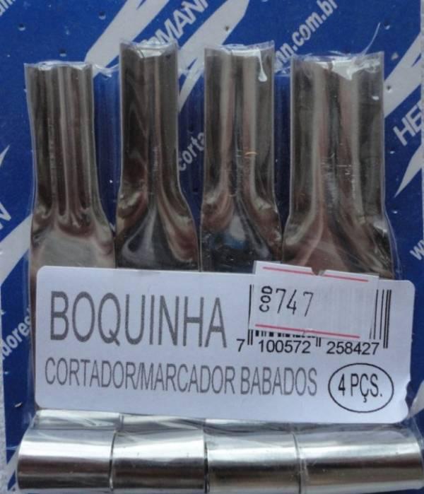 Foto2 - Cód M747 Cortador inox marcador de boca e babado 4 peças (H)
