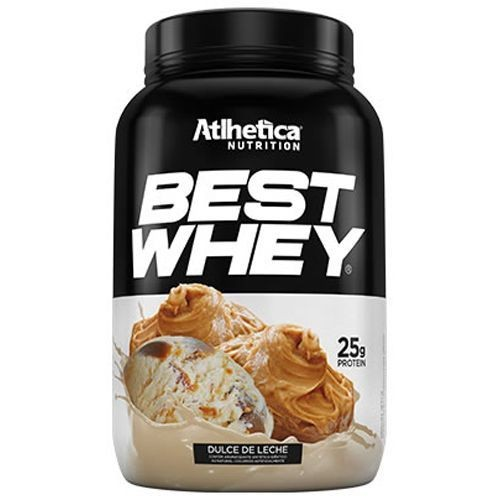 Foto 1 - Best Whey Atlhetica Nutrition Doce de Leite 900G