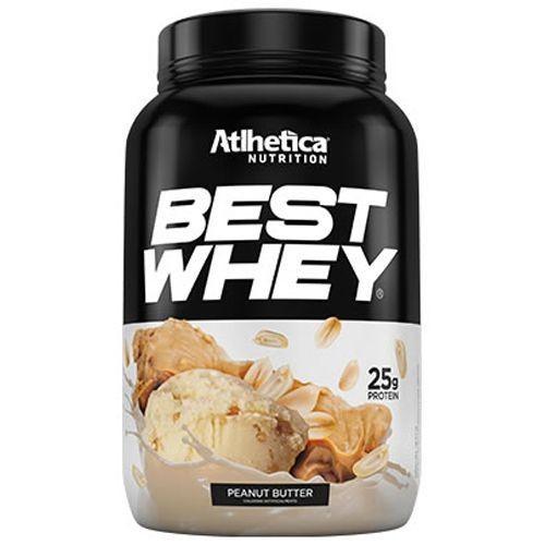 Foto 1 - Best Whey Atlhetica Nutrition Peanut Butter 900G