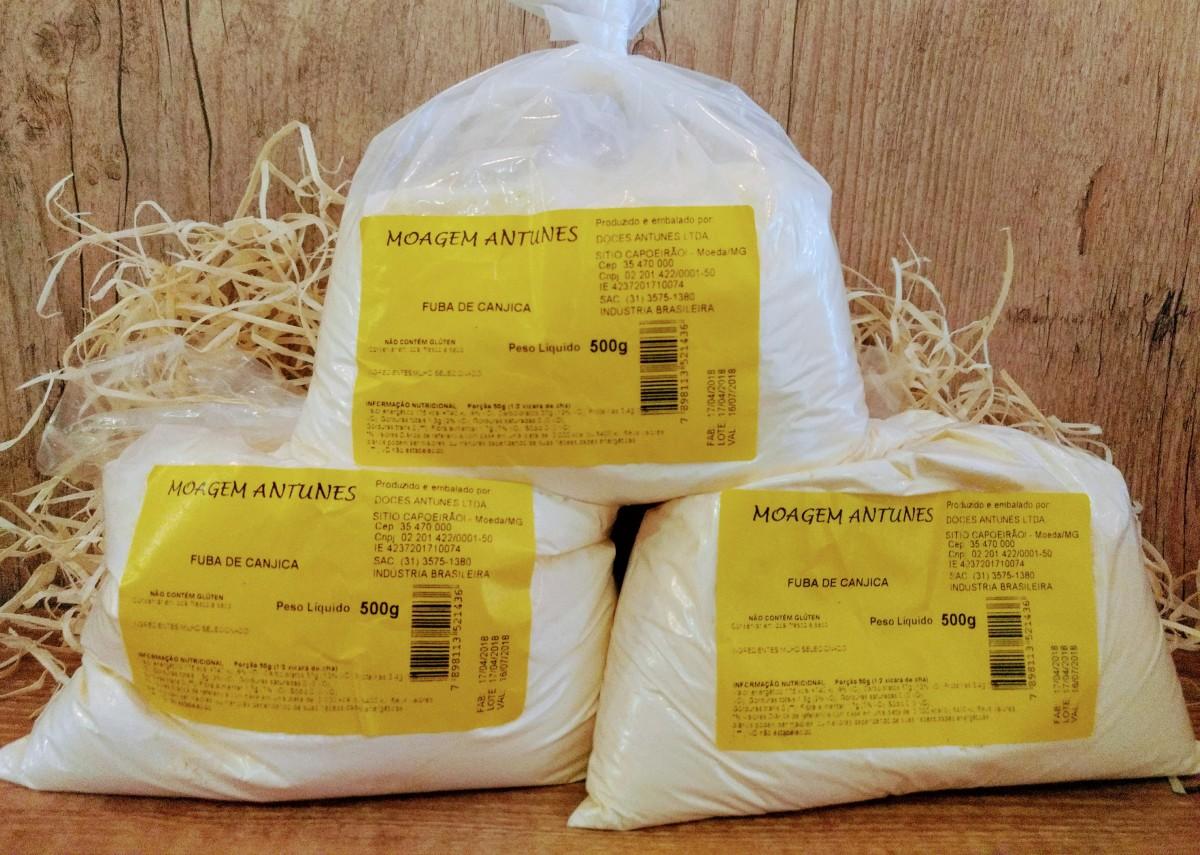 Imagem do produto FUBÁ DE CANJICA 500 g - MOAGEM ANTUNES