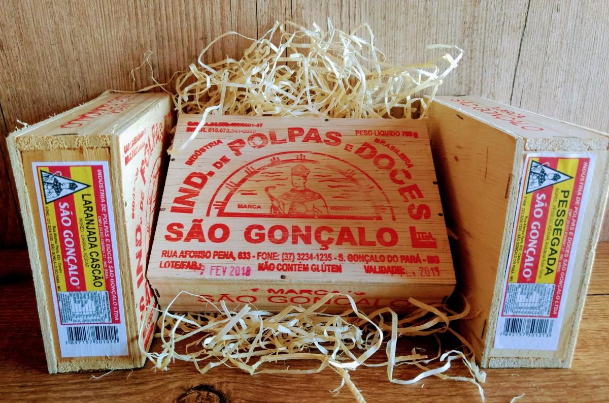 Imagem do produto MARMELADA / PESSEGADA SÃO GONÇALO 700g