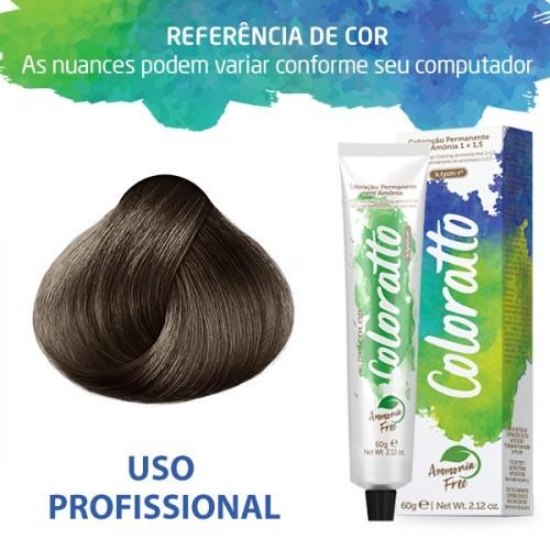 Imagem do produto Coloração Sem Amônia Coloratto 60g Louro Cinza 7.1