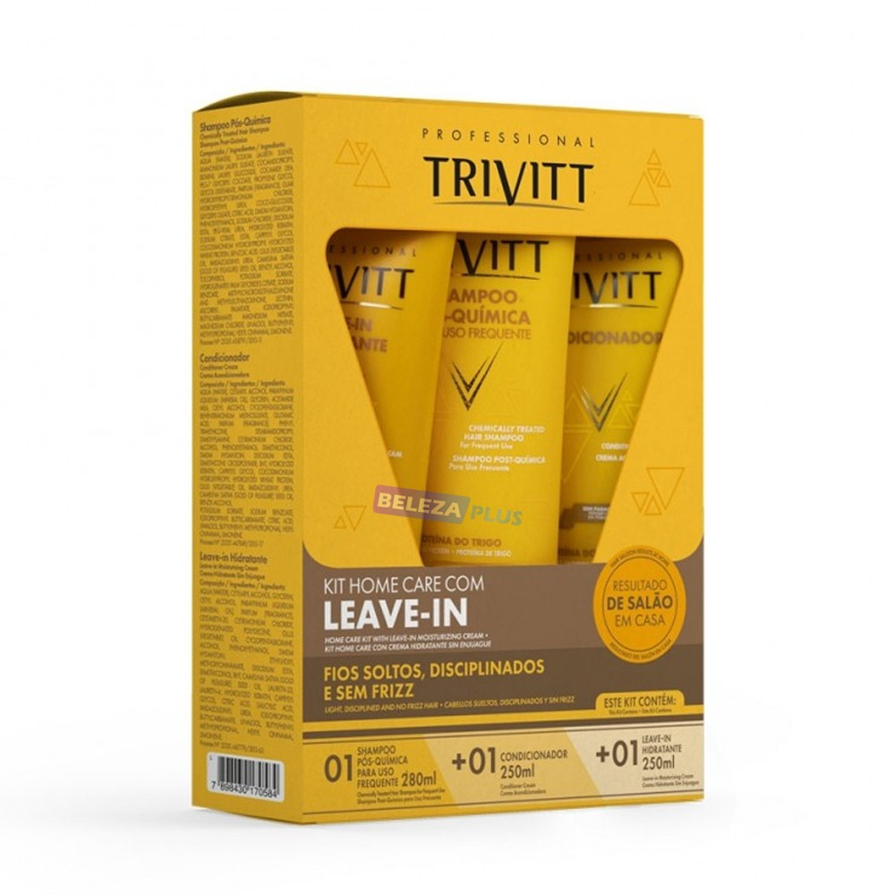 Imagem do produto Trivitt Kit Home Care com Leave-in Hidratante
