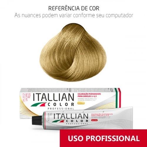 Imagem do produto Coloração Itallian Color Professional 60g Louro Claríssimo 9