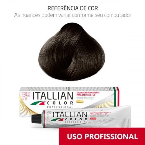 Imagem do produto Coloração Itallian Color Professional 60g Marrom 6.43