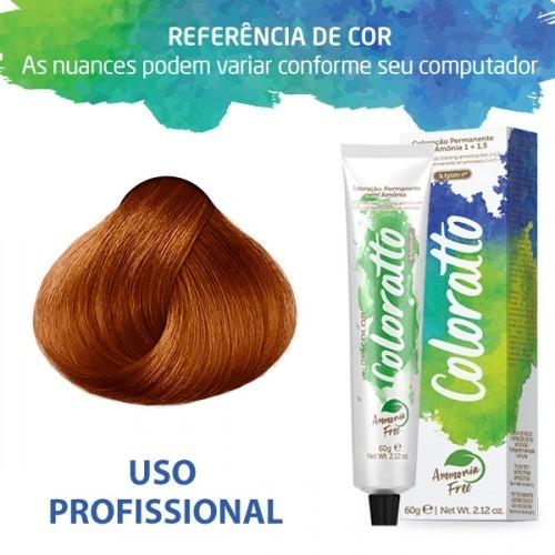 Imagem do produto Coloração Sem Amônia Coloratto 60g Hot Orange 0.40