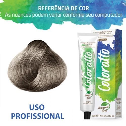 Imagem do produto Coloração Sem Amônia Coloratto 60g Louro Platina Cinza 10.1