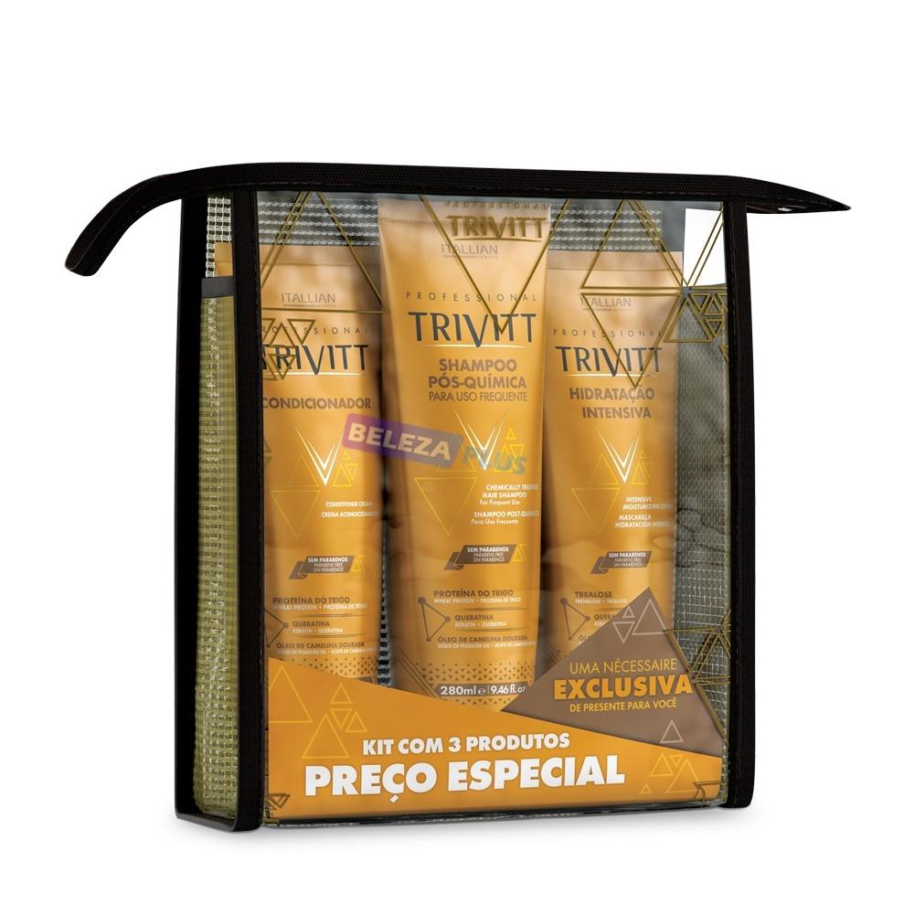 Imagem do produto Kit Home Care Trivitt com Hidratação Intensiva