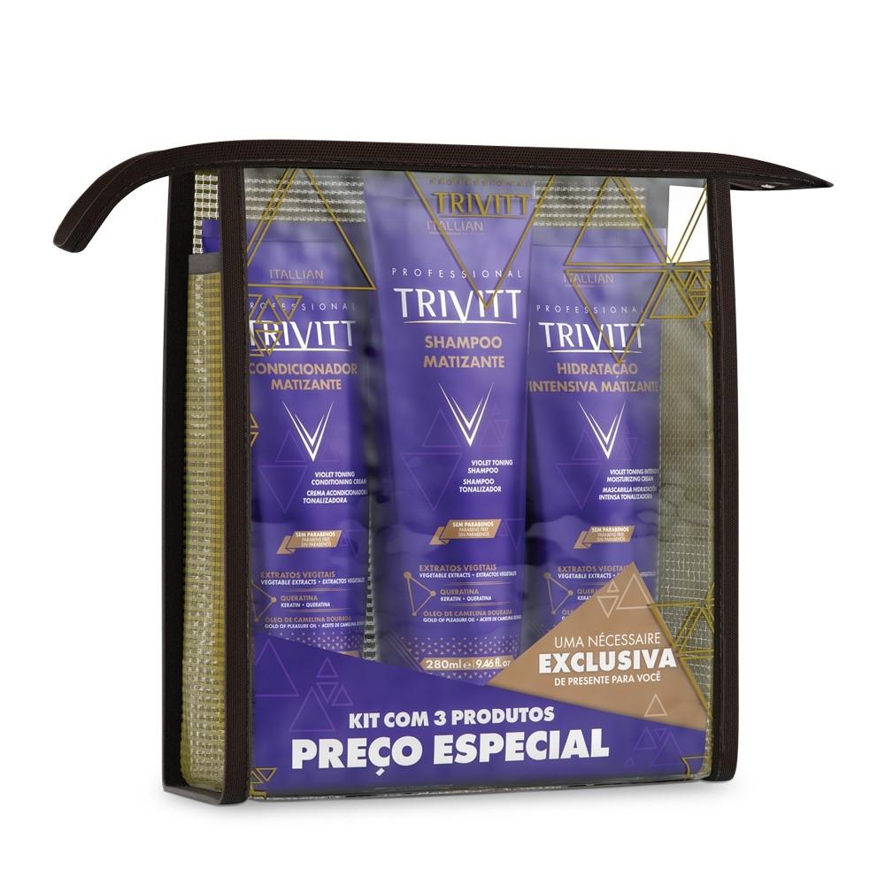 Imagem do produto Kit Home Care Trivitt Matizante