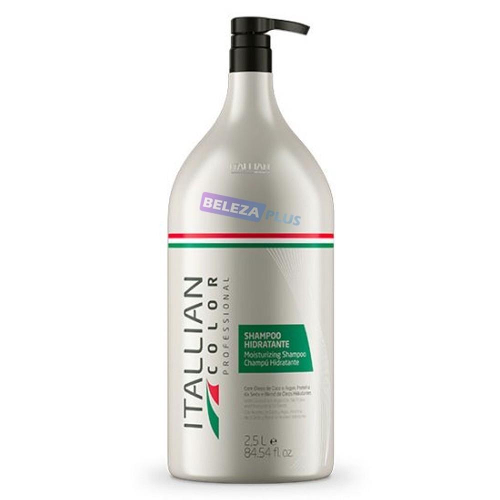 Imagem do produto Shampoo Hidratante Lavatório Itallian Color 2,5 litros