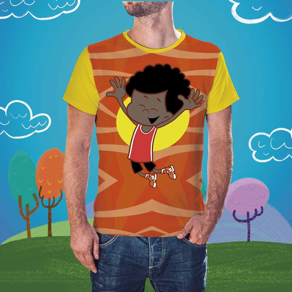 Foto 1 - Camisa Davi Masculina 3 Palavrinhas - Adulto