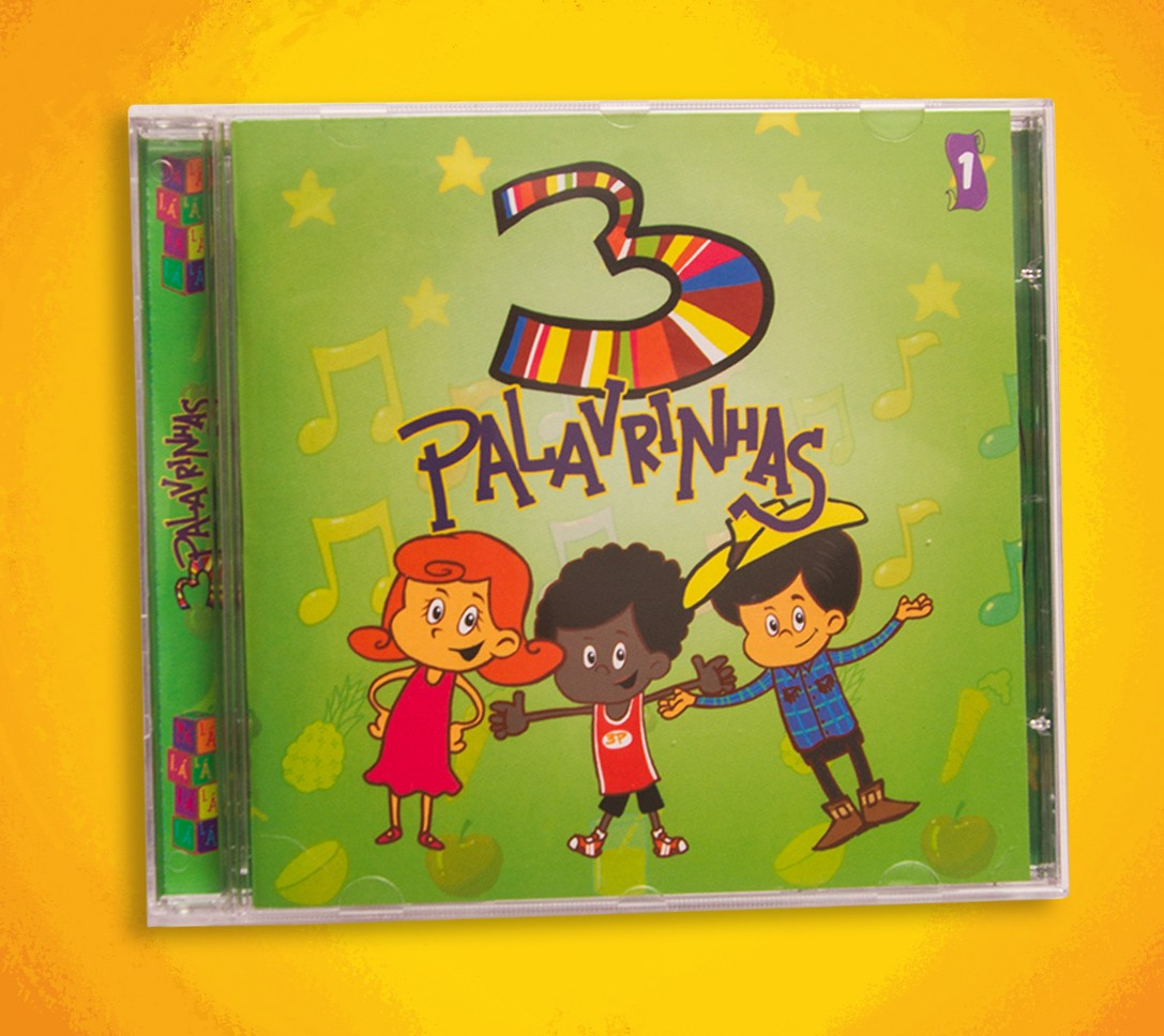 Foto2 - CD 3 Palavrinhas Volume 1