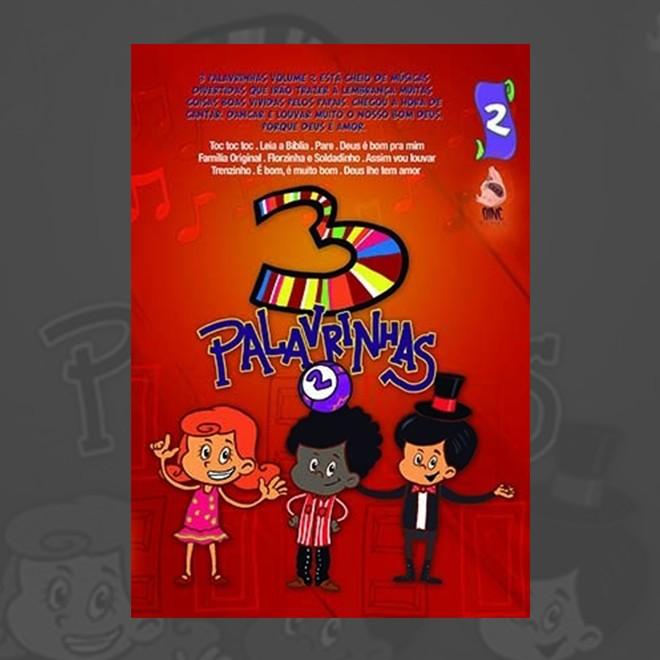 Foto2 - DVD 3 Palavrinhas Volume 2