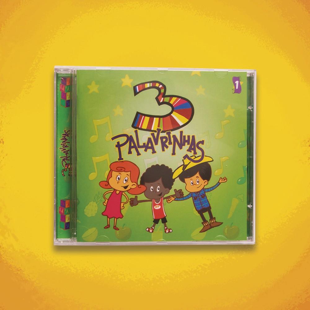 Foto2 - KIT CD's 3 Palavrinhas COMPLETO