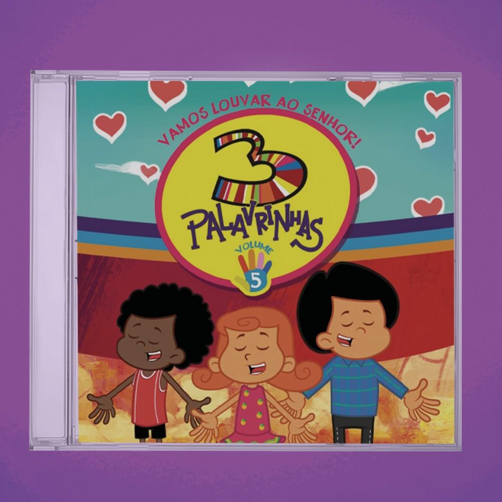 Foto6 - KIT CD's 3 Palavrinhas COMPLETO
