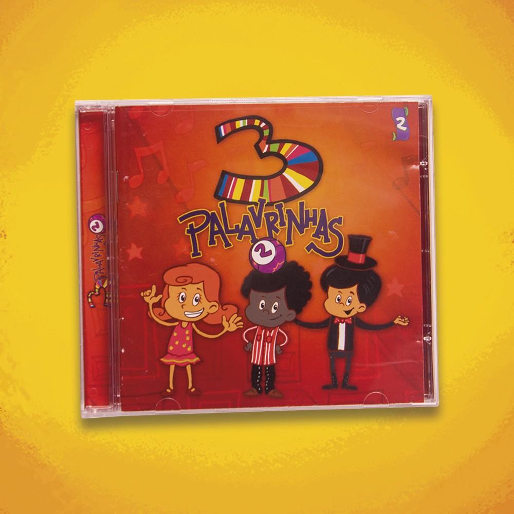 Foto3 - KIT CD's 3 Palavrinhas COMPLETO
