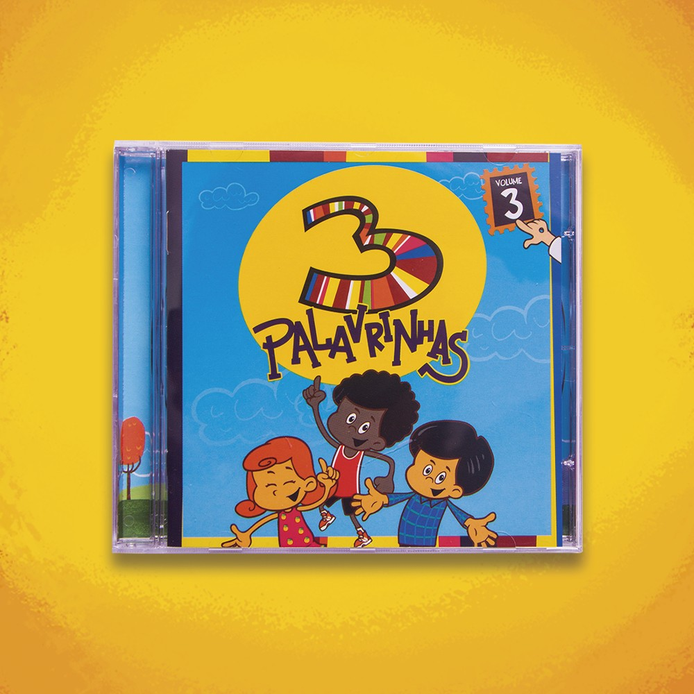 Foto4 - KIT CD's 3 Palavrinhas COMPLETO