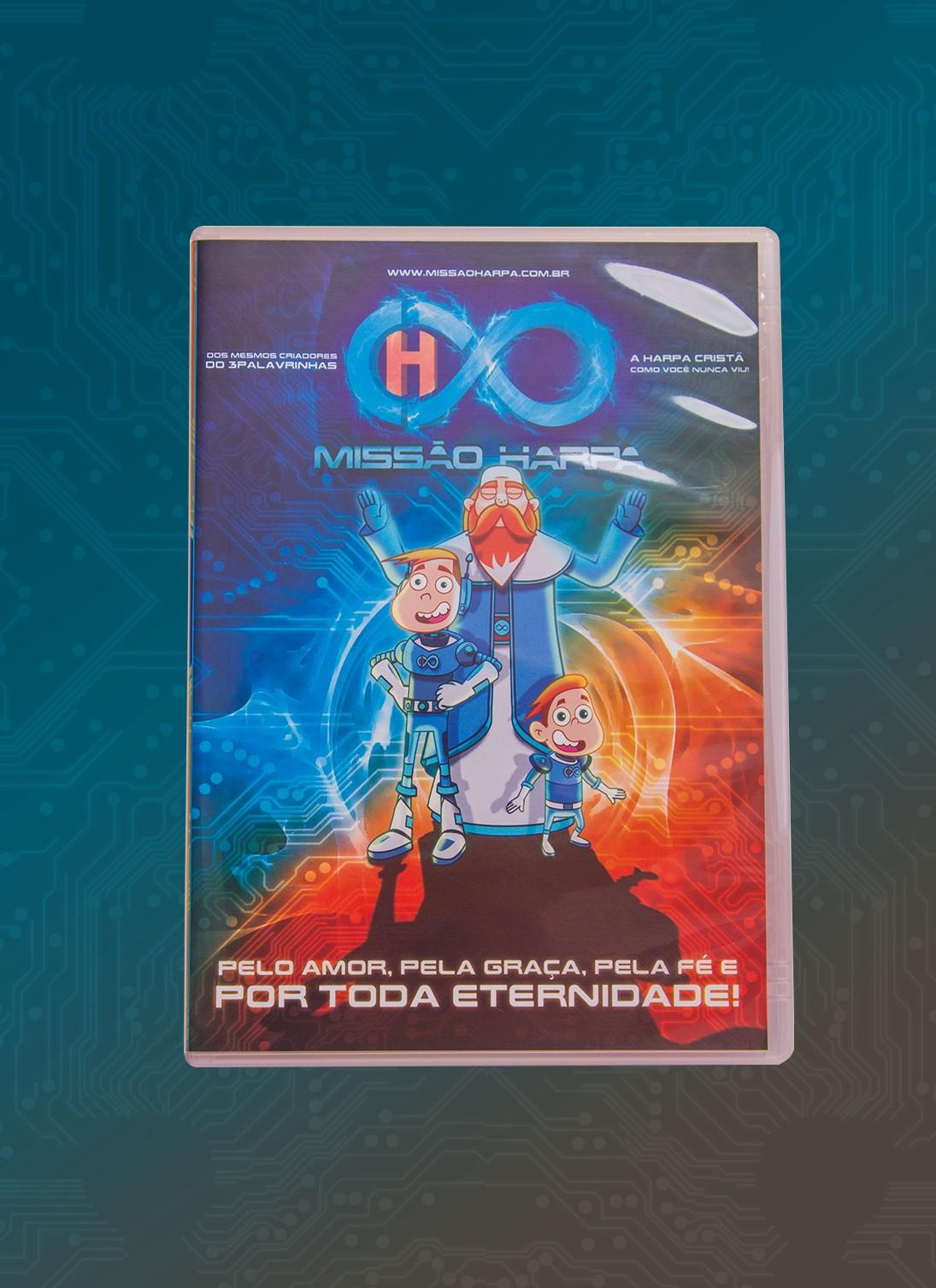 Foto3 - KIT de DVD's - Krozz & Missão Harpa