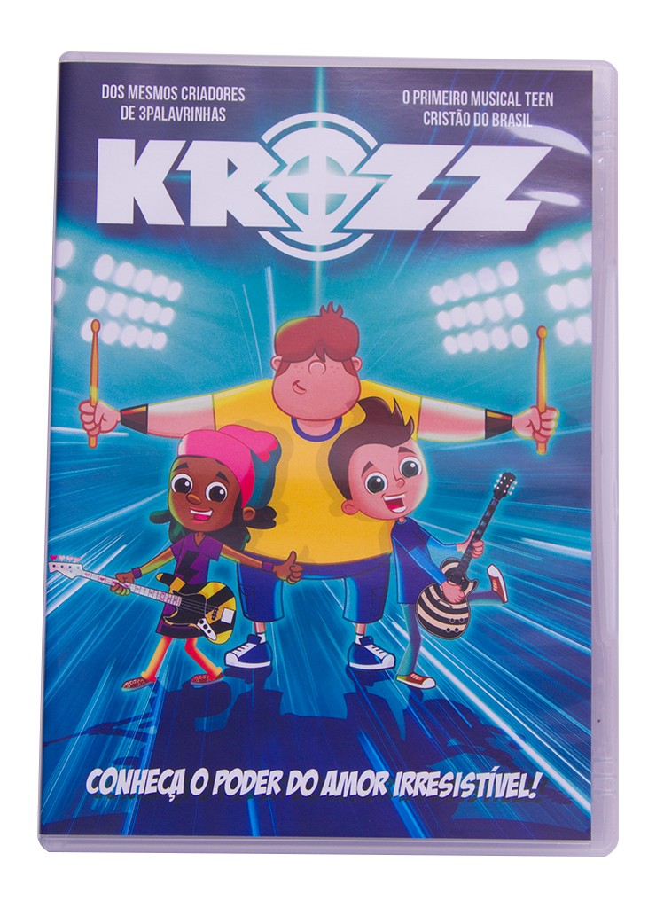 Foto2 - KIT de DVD's - Krozz & Missão Harpa
