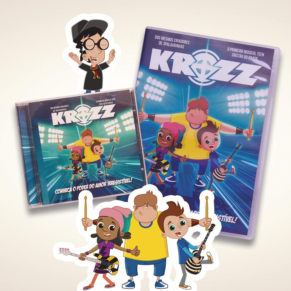 Foto 1 - KIT Krozz - CD & DVD