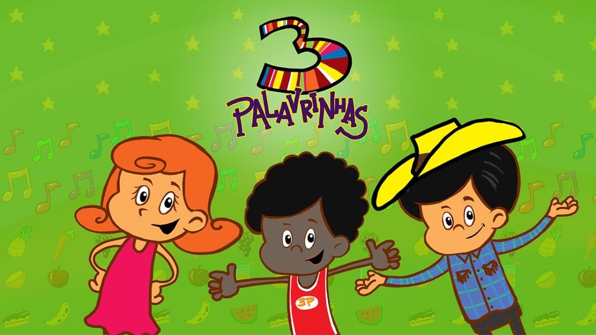 DVD 3 Palavrinhas Volume 1 - Loja Oficial 3 PALAVRINHAS