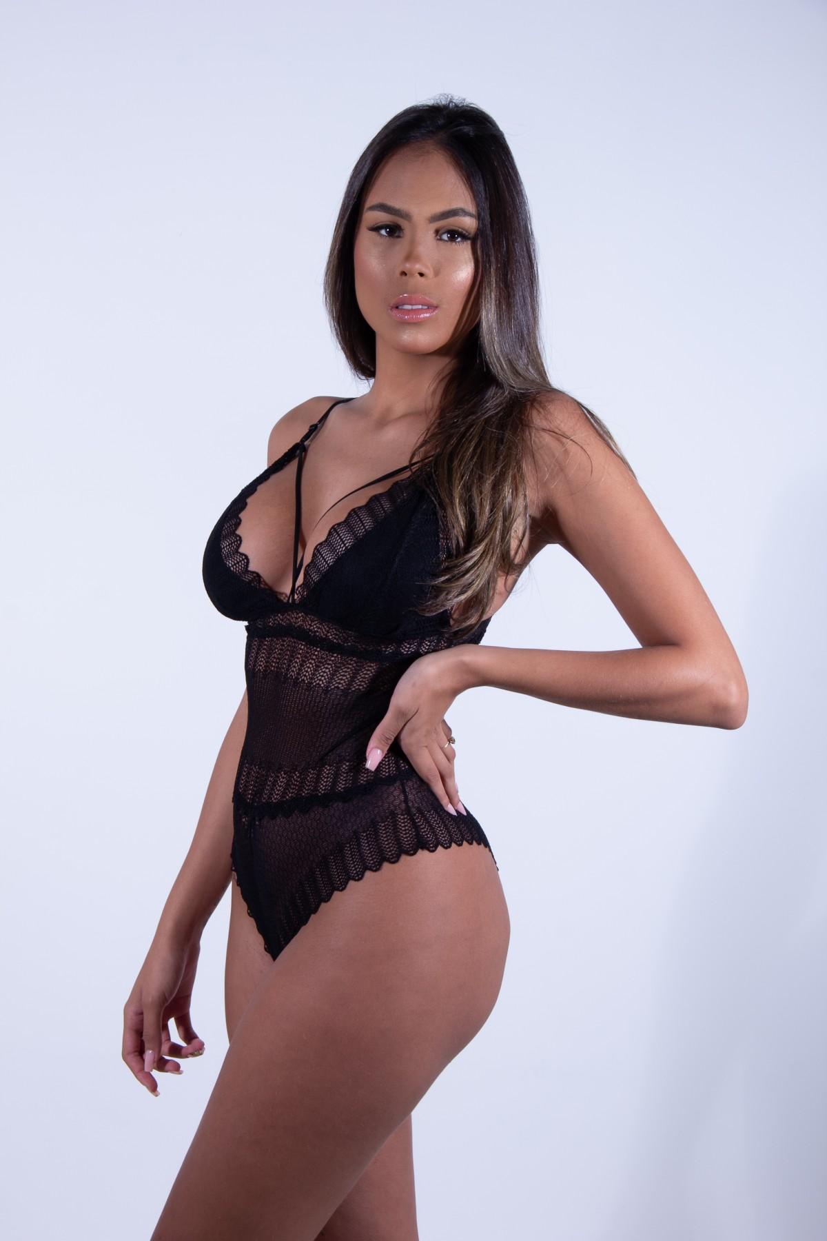 Foto2 - Body renda strappy LARA