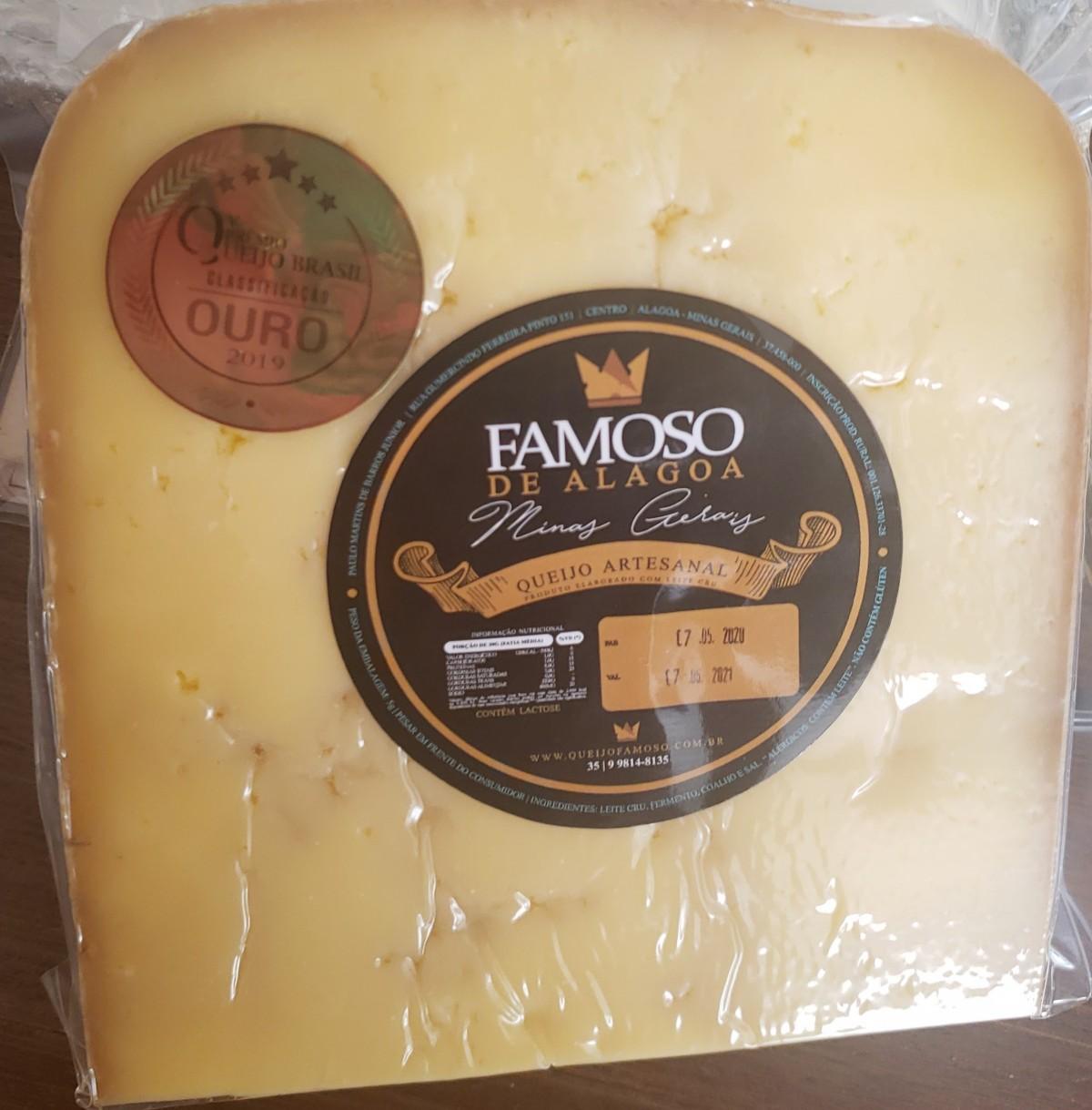 Foto 1 - **LANÇAMENTO** Fatia de queijo GRAN ALAGOA - 6 meses de maturação - 500 gramas