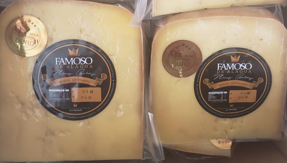 Foto2 - **LANÇAMENTO** Fatia de queijo GRAN ALAGOA - 6 meses de maturação - 500 gramas