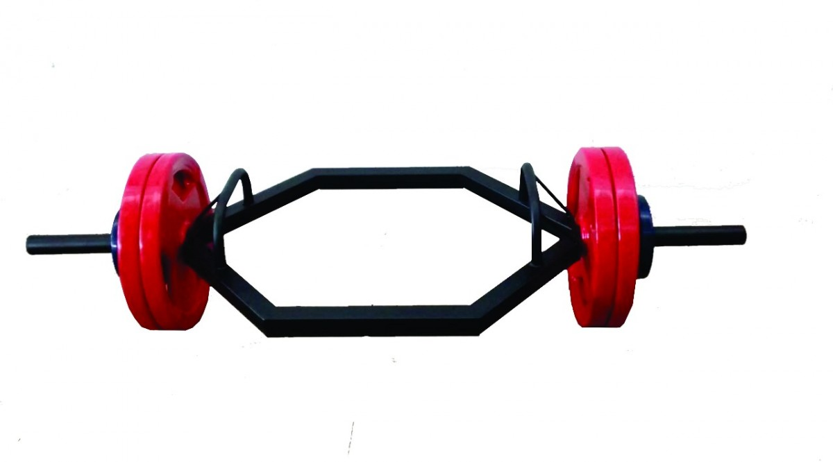 Foto 1 - Barra Hexagonal (sextavada) tubular preta