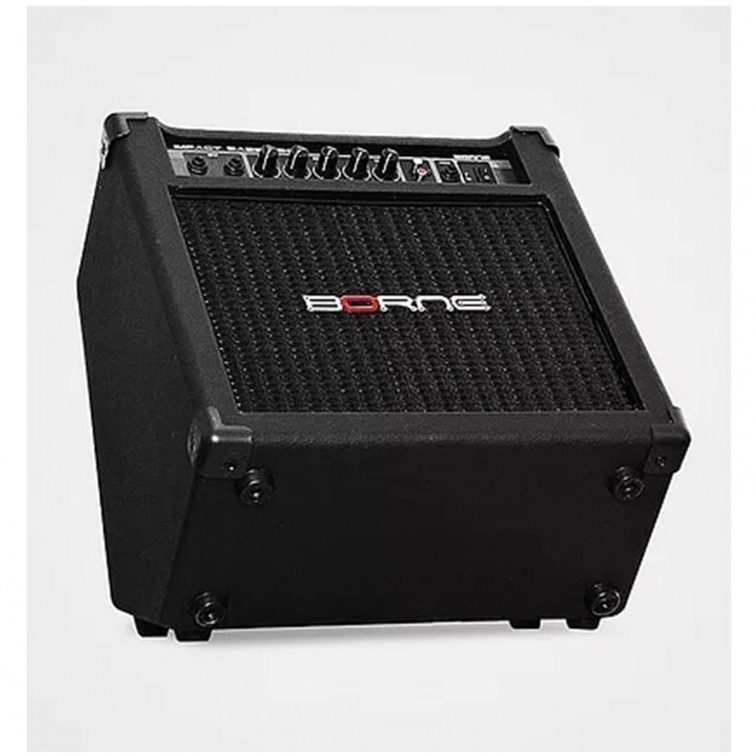 Foto2 - Caixa Amplificada Baixo Borne Impact Bass CB80 30 watts