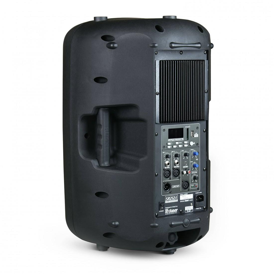 Foto2 - Caixa Amplificada Staner 12 polegadas 200 watts SR-212