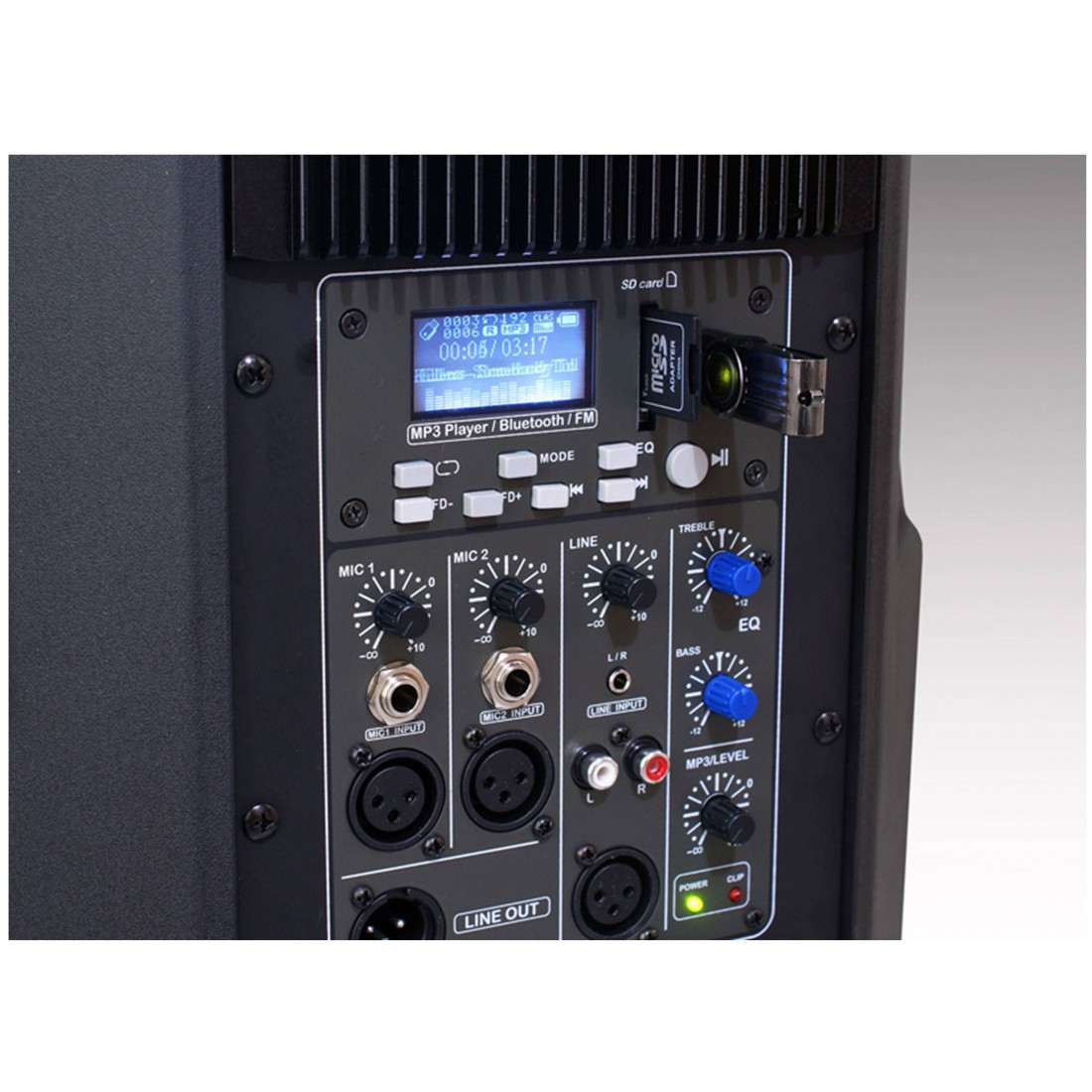Foto3 - Caixa Amplificada Staner 12 polegadas 200 watts SR-212