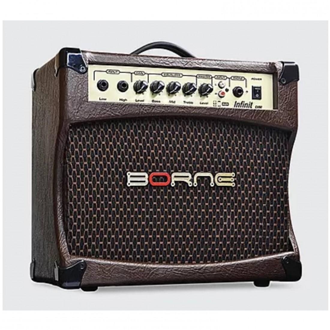 Imagem do produto Caixa Amplificada Violão Borne Infinit CV80 30 watts