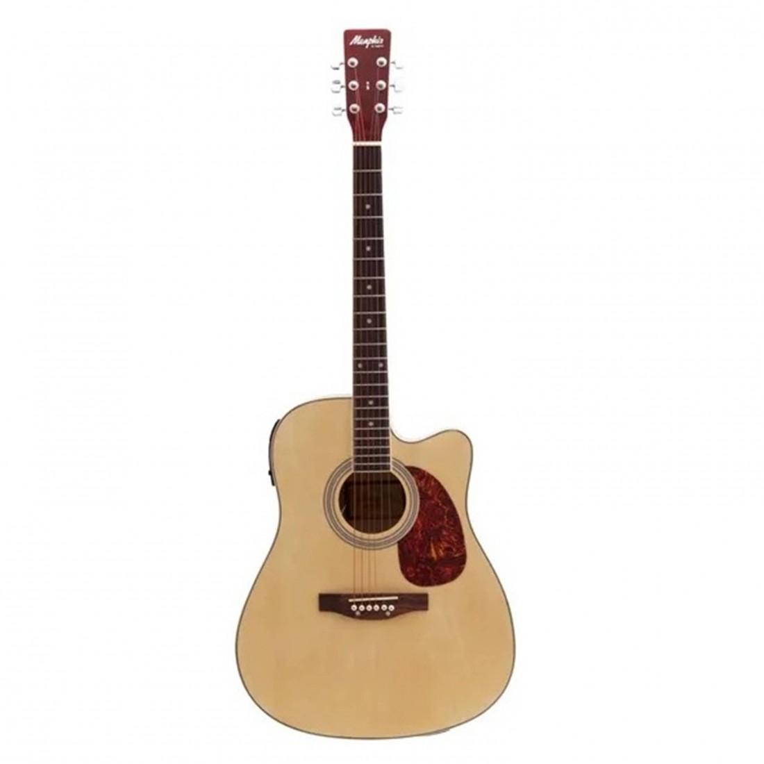 Imagem do produto Violão Memphis Aço Elétrico Folk MD-18