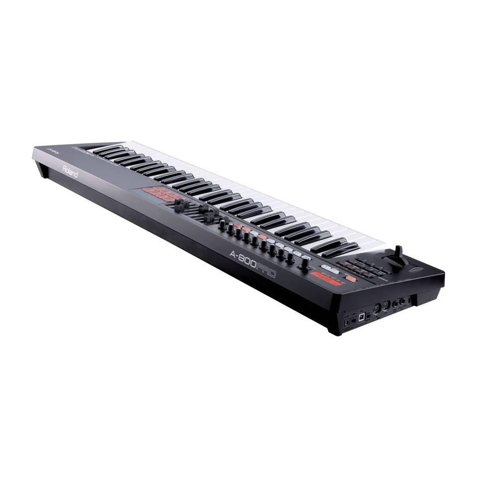 Foto4 - Controlador MIDI Roland 61 Teclas A-800PRO