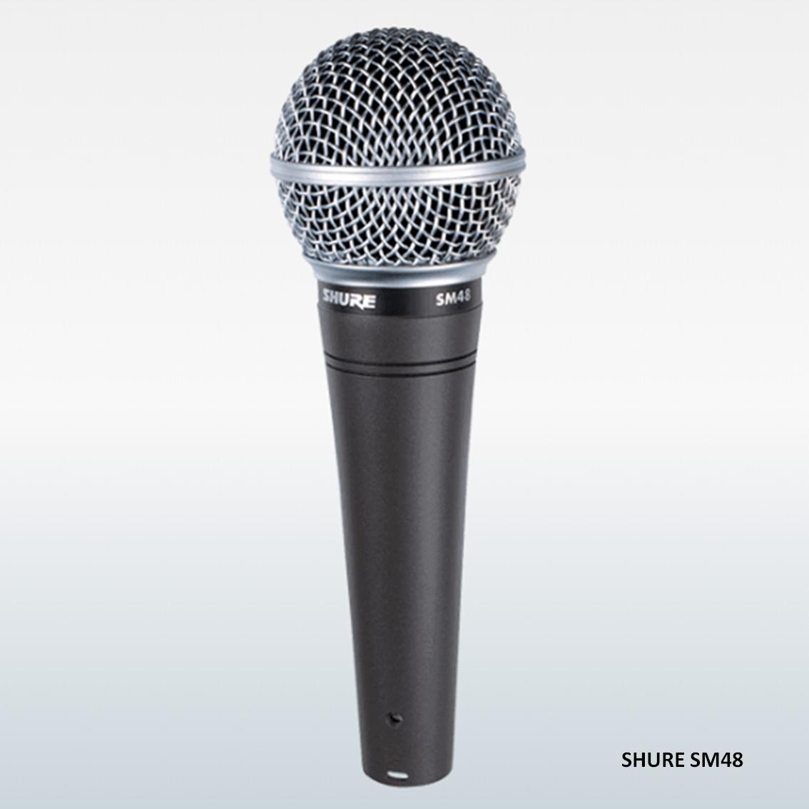 Imagem do produto Microfone de Mão Shure SM48 LC