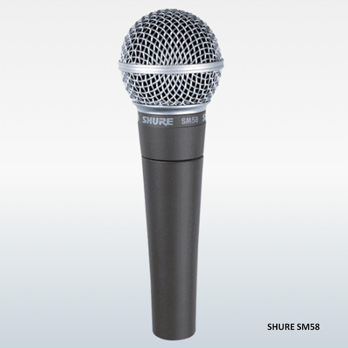 Imagem do produto Microfone de Mão Shure SM58 LC