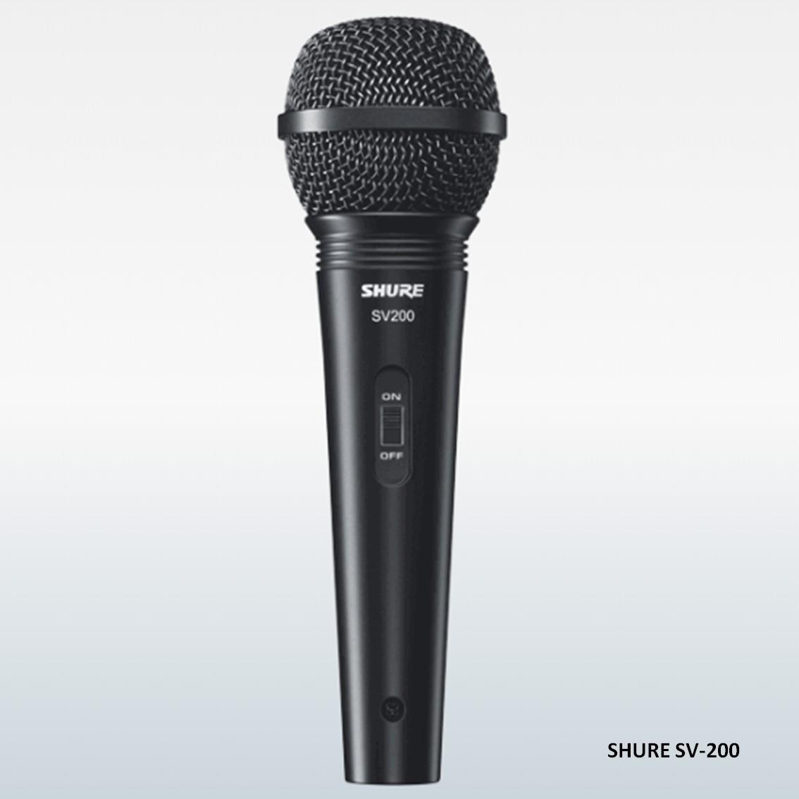 Imagem do produto Microfone Dinâmico de Mão Shure SV200