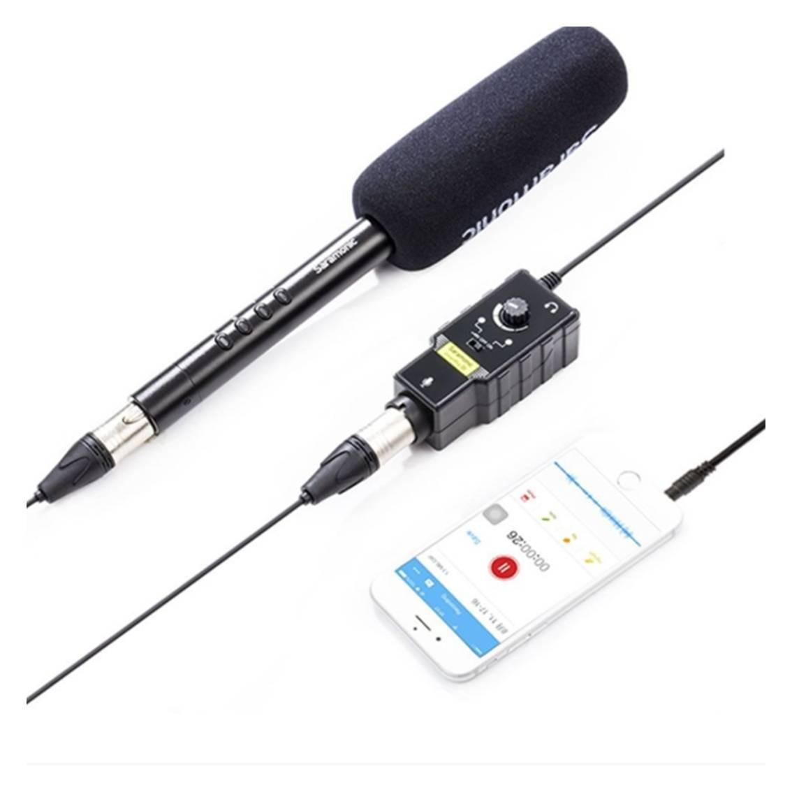 Foto3 - Mixer de Áudio para Smartfone Saramonic SmartRig II