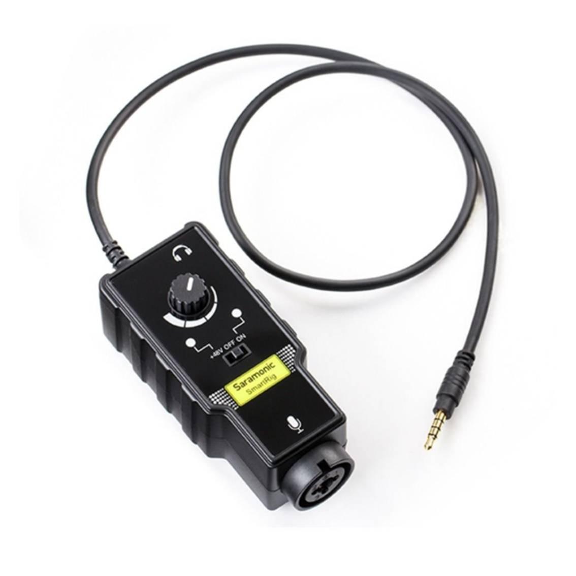 Imagem do produto Mixer de Áudio para Smartfone Saramonic SmartRig II