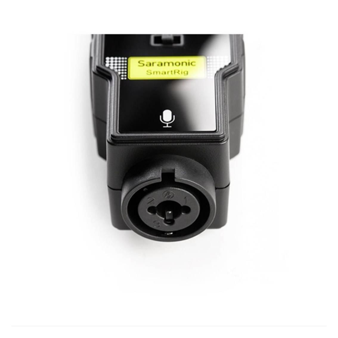 Foto2 - Mixer de Áudio para Smartfone Saramonic SmartRig II