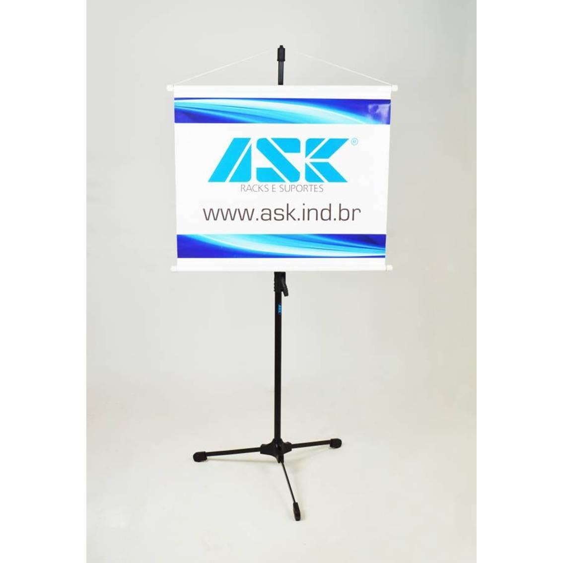 Foto2 - Pedestal para Microfone ASK TPS