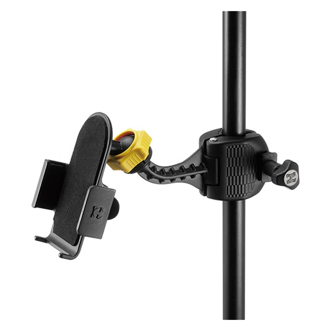 Imagem do produto Suporte para Smartphone com Ajuste Variável e Trava Hercules DG200B